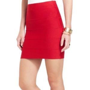 """""""BCBGMaxAzria"""" Simone Bandage Skirt"""